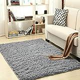 GEVJ Super Weiche Moderne Shag Schlafzimmer Bodenmatte Baby Kinderzimmer Teppich Kinder Wolle Nachahmung Schaffell Teppiche