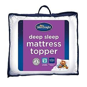 Silentnight Deep Sleep Mattress Topper, White, King