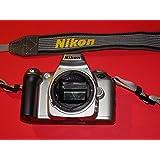Appareil photo Nikon F55–feines Collector–Boîtier rarement–Body–Argent–SLR–Analogique speigelr eflex Appareil photo # # Camera # # pièces de collection By photo Flash # #