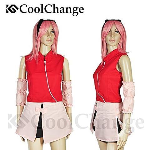 CoolChange déguisement Chunin de Sakura Haruno de Naruto. Taille: S