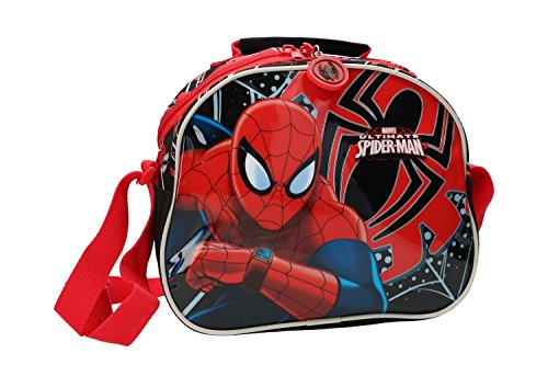 Neceser adaptable con bandolera de Spiderman
