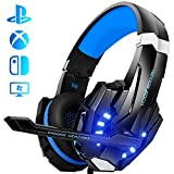 Auriculares Gaming PS4, Galopar Cascos Gaming, Premium Stereo con Microfono Gaming Headset con 3.5mm...