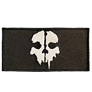 SOG Call of Duty Ghosts COD Morale Tactical Ghost Sew Thermocollant Écusson Patch