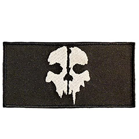 SOG Call of Duty Ghosts COD Morale Tactical Ghost Attache-boucle Écusson Patch