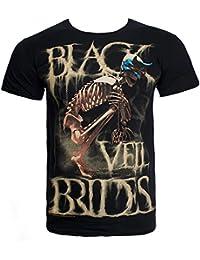 Black Veil Brides Dust Mask T Shirt (Black)