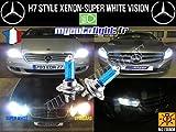 Leuchtmittel H7weiß Xenon Look–Mercedes C-Klasse W204