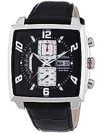 Festina F6826/1 - Reloj cronógrafo de cuarzo para hombre con correa de piel, color negro