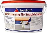 Baufan Vliesfixierung für Teppichböden mit Vliesrücken 5kg