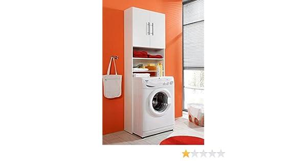 Praktischer waschmaschinenschrank amazon küche haushalt