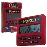 Trademark Global Electronic Handheld 5 in 1 Poker Game