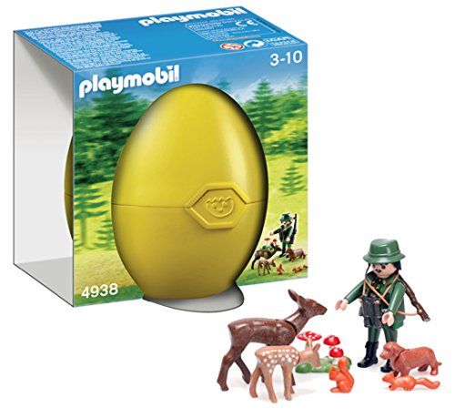 Playmobil 4938 Easter egg 'hunting with wild animals'