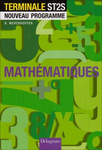 Mathematiques Terminales St2s Eleve
