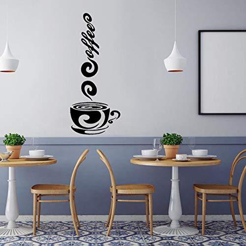Wandaufkleber Kinderzimmer 3D Wohnzimmer Schlafzimmer Hintergrund Tee Kaffee Kunst Aufkleber Vinyl Wandaufkleber Küche Pub Deor Einfache 3 Stücke - 3 Stück Pub