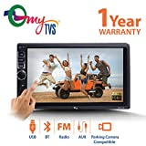 myTVS TAV-40 Double Din HD Touch Screen Car Stereo Media Player (Black)