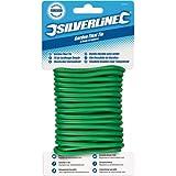 Silverline 868820 - Cuerda de alambre plastificado para jardín (4,8 mm x 5 m)