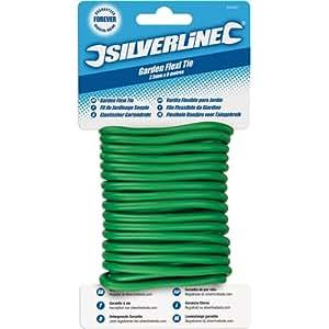 Silverline 633941 Garden Twisty Tie 2.5 mm x 8 m