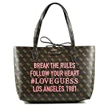 Guess - Shopper BOBBI Inside Out Tote brown logo/camel, SH642215-BWC