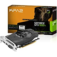 KFA2 GeForce GTX 1050 Ti OC PCI-E Gaming-Grafikkarte, 4GB GDDR5, schwarz