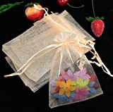 30ps Organza Bags Wedding Decoration Jewelry Gift Packaging Bag Candy Pouches Crafts Festive Supplies