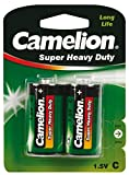 Camelion 10000214 Super heavy duty Batterien R14/ Baby/ 2er Pack
