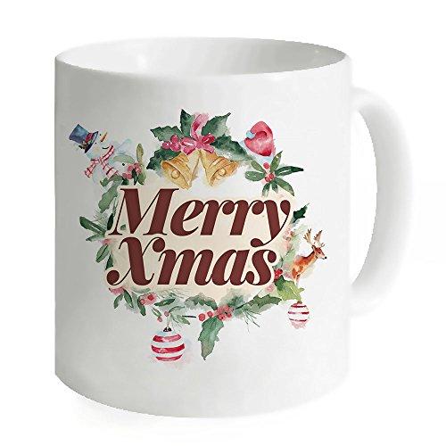 Merry Christmas 11oz Tazza Caffè