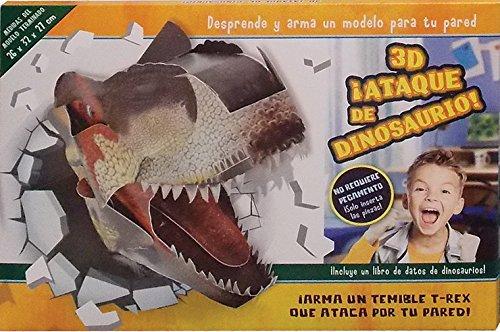 3-D ¡Ataque de Dinosaurio/3-D Dinosaur Attack por Not Available