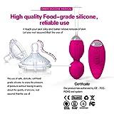 CJH Exquisite Silikon Wasserdichte USB-Lade-Vibro-Ei für Frauen