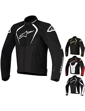 Chaqueta Alpinestars T-Jaws 2017 / deportiva impermeable chaqueta de moto con protecciones (L, negro - amarillo...