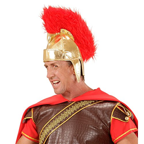 NET TOYS Römerhelm Sparta Helm Zenturio Spartaner Centurio Hut Antike Soldatenhelm Römer Gladiatorenhelm Krieger Soldat Kostüm Zubehör (Soldat Helm Kostüm)