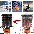 PROKTH Mini Heizaufsatz für Gaskocher, Zeltheizung Gas Heizgerät, Camping und Wandern Heizaufsatz von zsl bei Outdoor Shop