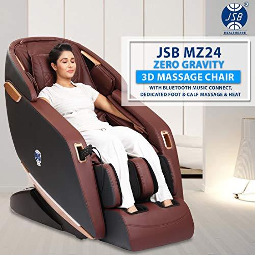 JSB MZ24 3D Massage Chair Zero Gravity with Bluetooth Music...