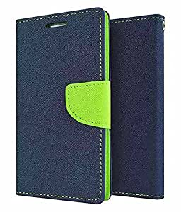 Case Design Mercury Flip Cover For Samsung Galaxy J7 (2016) -Blue