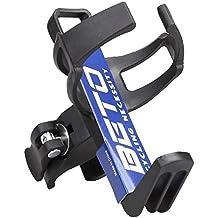 Lyauta, portaborraccia regolabile, per biciclette, in alluminio, rotante a 360°