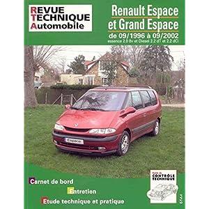 Revue Technique 603.2 Renault espace essence et diesel depuis 97