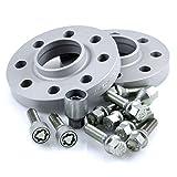 TuningHeads/H&R .0424282.DK.75725-10 ABE Spurverbreiterung, 20 mm/Achse + Radschrauben + Felgenschlösser, 20 mm/Achse