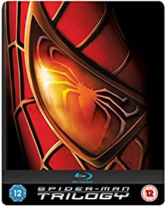 Spider-Man Trilogy Steelbook [Blu-ray] [Region Free]