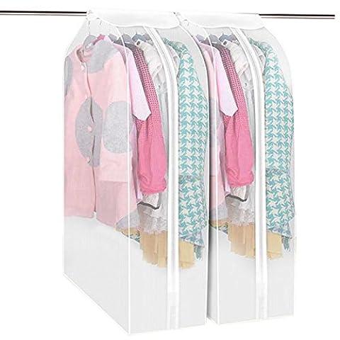 Teckpeak Kleiderschutzhülle Hängetasche Kleidersack (Schutzhülle Für Kleiderständer)