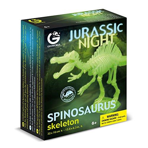 Geoworld cl286k - jurassic night spinosaurus scheletro
