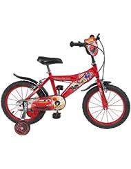 Toimsa 738 Vélo Garçon - Cars - 5 à 8 ans, 16 Pouces