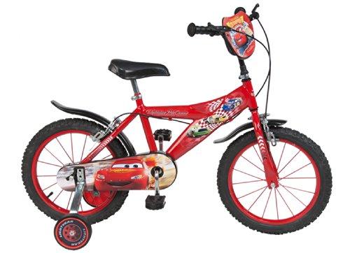 """Toimsa 738 - Cars, Bicicletta per bambino, dimensioni 16"""", da 5 a 8 anni"""