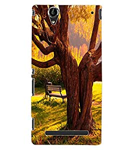 ColourCraft Tree Design Back Case Cover for SONY XPERIA T2 ULTRA