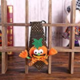 Gaddrt Halloween Glowing Tie Props Pumpkin Tie Witch Ghost Party Decor Toys Gift (C)