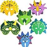 Ark Toys Dinosaur Foam Masks, 6 supplied