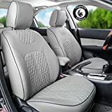 PegasusPremium Pu Leather Car Seat Cover Grey For - Best Reviews Guide