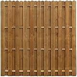 vidaXL Panel de ocultación vertical madera