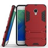 Ougger Coque pour Meizu M5 Coque Etui Case, Extreme Protecteur [Absorption des Chocs]...
