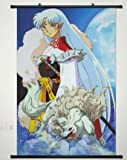Home Decor anime Cosplay Inuyasha Sesshomaru Wall scroll poster 59,9 x 89,9 cm -025
