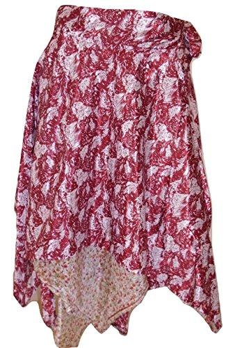 Indian Wrap Around Rock Magic Rock Premium Qualität Sari Silk Wrap Rock / Top / Kleid - 30Zoll Drop