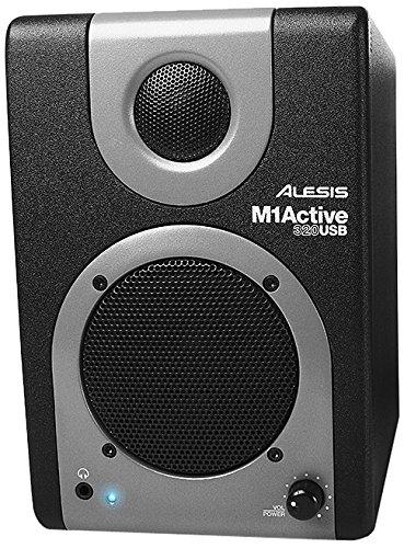 Alesis M1ACTIVE 320usb altavoz para MP3& iPod negro, gris