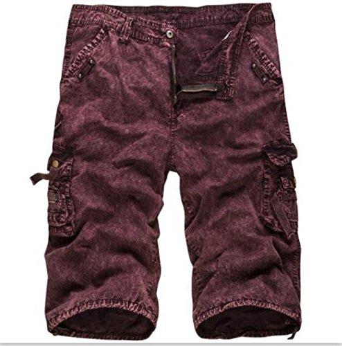 Men's Military Panties Printed Cargo Camouflage Beach Shorts G420 hongmicai